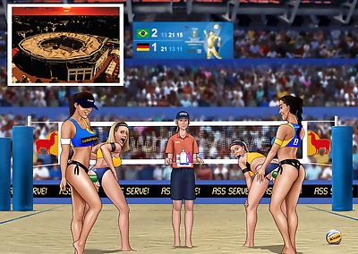 Extro- FIVB Beach Volleyball..