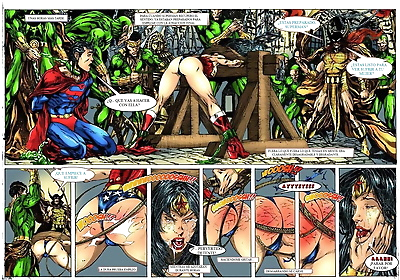 Wonder Woman vs Warlord..
